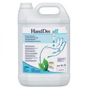 Безспиртовой антисептик для рук Kiilto HandDes All 205141