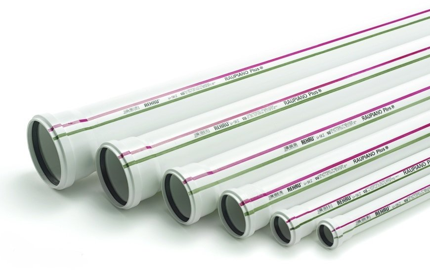 Rehau Труба для систем внутренней канализации 40/500 мм