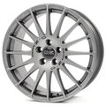 Колесные литые диски Oz Racing SUPERTURISMO GT Grigio Corsa 8x17 5x100 ET35 D68 Серебристый (W01673200P5) - фото 1