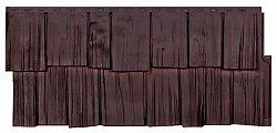 Фасадная панель (цокольный сайдинг) T-siding Щепа Дуб Памир