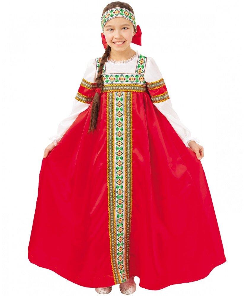 40546bdb737 Карнавальный костюм  Русский народный костюм для девочки