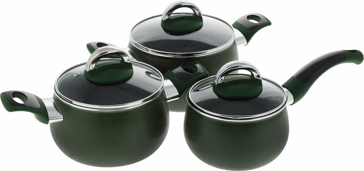 Набор посуды для приготовления пищи Mayer & Boch, 6 предметов. 27791