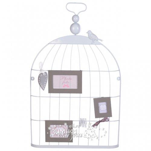Koopman Держатель для фото и открыток Птичья Клетка 57*35 см AAE283020