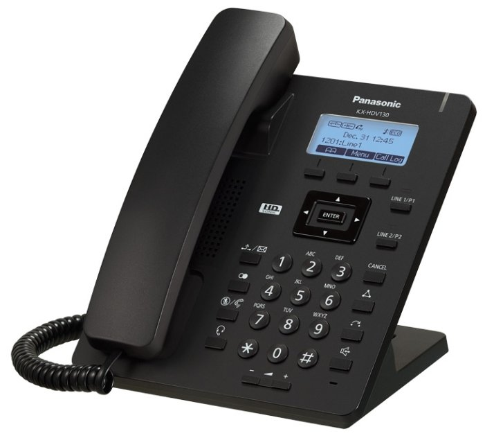 Проводной SIP-телефон PANASONIC KX-HDV130RUB