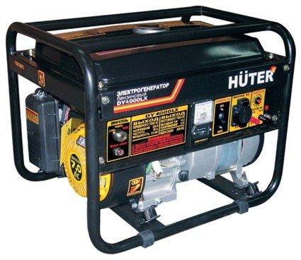 Электрогенератор бензиновый Huter DY4000LX электростартер