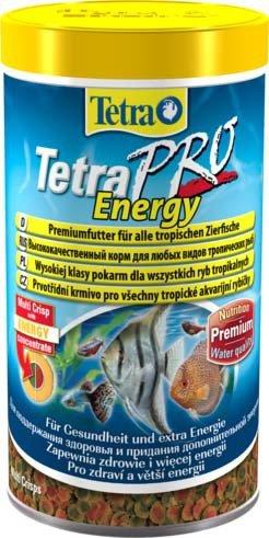 """Корм для рыб """"Tetra Pro Energy Crisps"""" для дополнительной энергии (чипсы), 500 мл"""