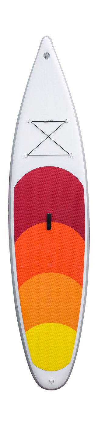"""Доска для серфинга надувная (SUP) SWASH 11'6"""", цвет белый-оранжевый SUPTB116WO"""