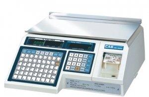 Весы с печатью этикетки CAS LP-30 Ver.1.6 Ethernet