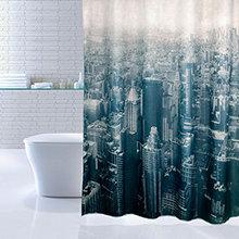 Штора для ванной комнаты Iddis Megapolis 610P18Ri11