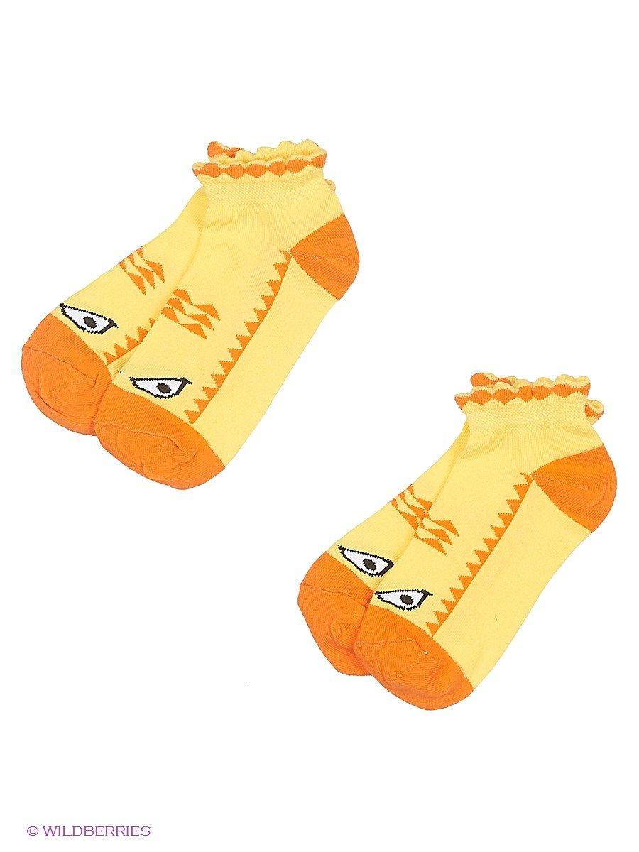 Носки Хох 2d-1410/желтый