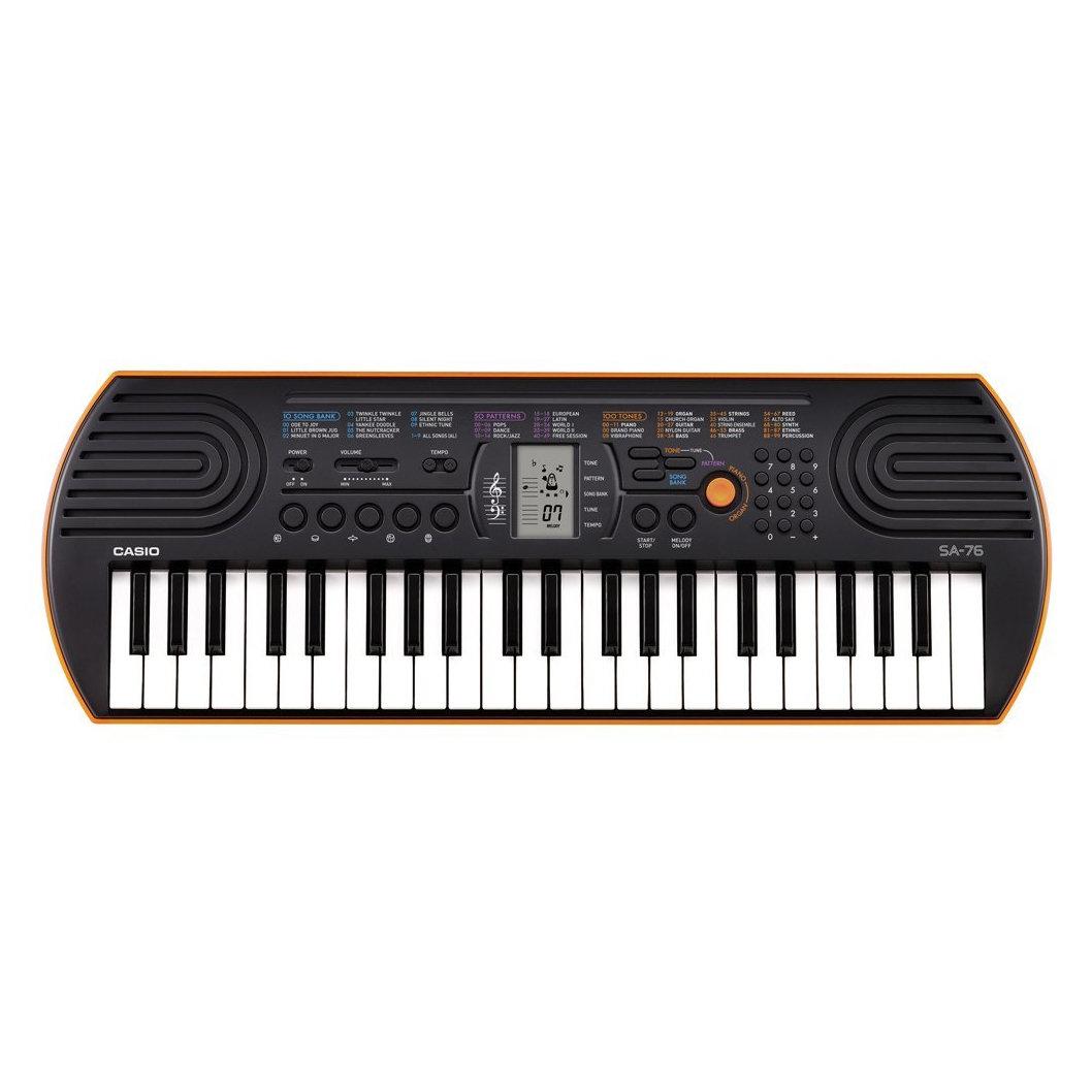 Синтезатор Casio SA-76, 44 мини-клавиши