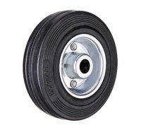Колесо промышленное - С 54 колесo без кронштейна 125 мм черная резина