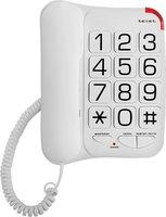 Телефон teXet TX-201, белый