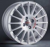 Колесные диски OZ Racing SUPERTURISMO WRC WHITE RED LETTERING 7x17 5x114,3 ET45 d75 - фото 1
