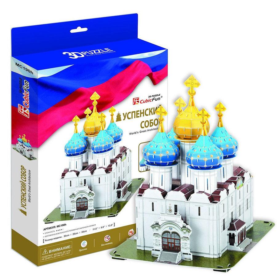 Пазл CubicFun Успенский собор Троице-Сергиевой Лавры 131 шт.