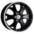 Диски Antera 361 9.5x20 6x139,7 ET12 ЦО110.1 цвет Racing Black Lip Polished - фото 1