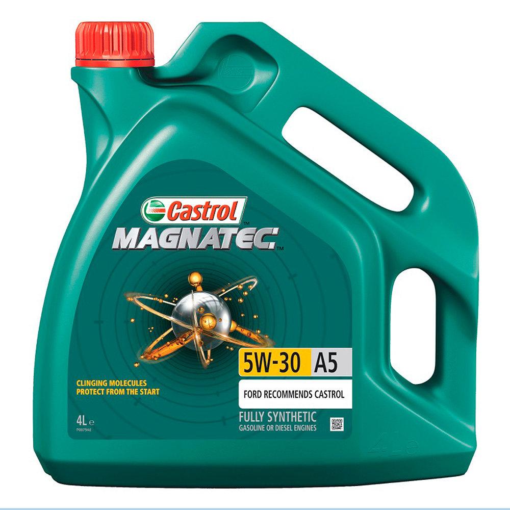 Моторное масло Castrol Magnatec 5W30 А5 (4л) CAS-MAGN-5W30-A5-4L