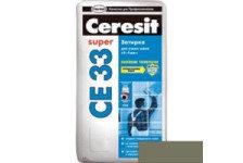 Затирка CERESIT CE33 оливковая 2кг (9)