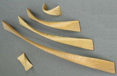Ручка Vonsild Twist 32 дуб