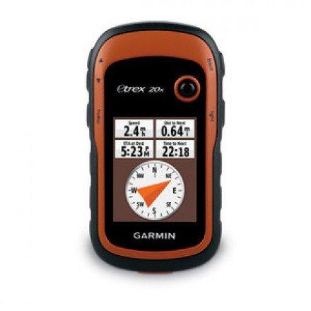 Туристический GPS навигатор Garmin eTrex 20x Глонасс - GPS с картой Дороги России. РФ. Топо