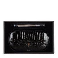 набор Zinger Зингер Набор маникюрный в металлическом овальном корпусе черный (9 предметов)