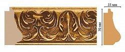 Декоративный багет для стен Декомастер Ренессанс 566-1223