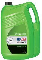 Антифриз luxe green line готовый зеленый 10 кг Luxe арт. 672