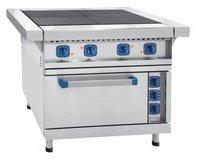 Плита электрическая 4-х конфорочная с жарочным шкафом Abat ЭП-4ЖШ