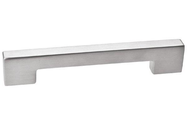 Мебельная ручка-скоба 96мм F102/D-CM Шлифованная сталь