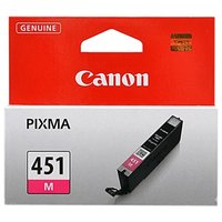Картридж Canon CLI-451M 6525B001 для MG6340, MG5440, IP7240 . Пурпурный. 319 страниц.