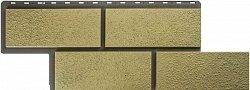 Фасадная панель (цокольный сайдинг) Альта-Профиль Неаполитанский камень Песчаный