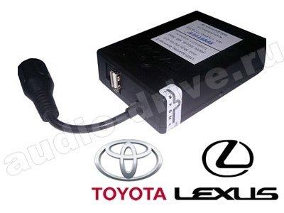 USB MP3 чейнджер Триома HoST-Flip для Toyota (6+6pin) для штатных магнитол