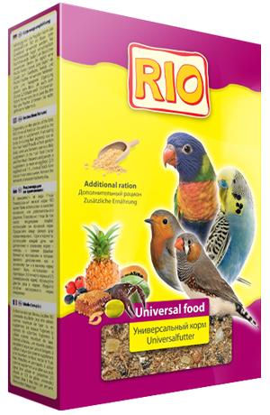 Корм Rio универсальный мягкий для всех видов птиц 350 г (350 г, )