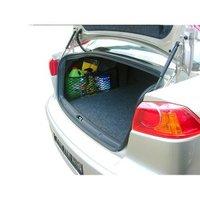 Сетка для ниши багажника, черная, 55 х 25 см