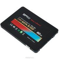 Silicon Power Slim S55 60GB (SP060GBSS3S55S25) SSD-накопитель