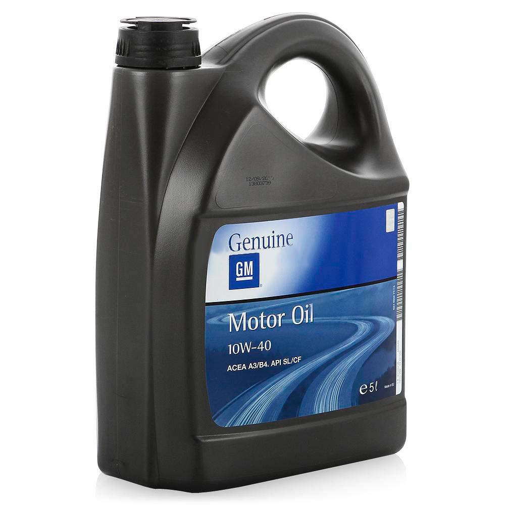 Полусинтетическое моторное масло GM 10W40 5л GM-10W40-5L
