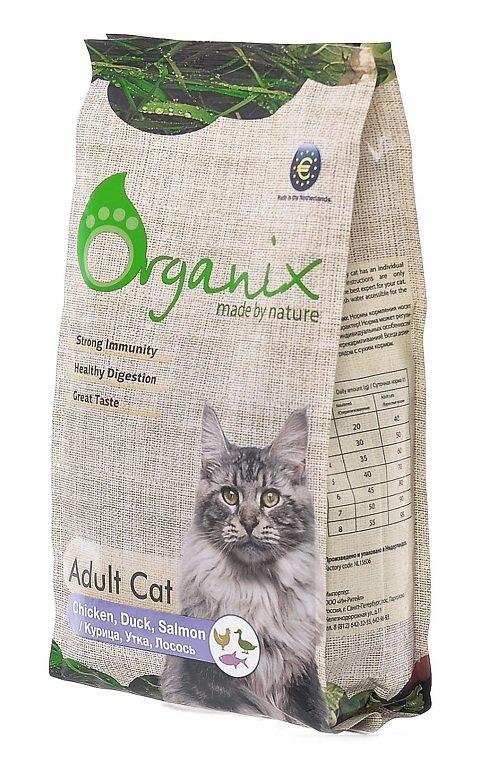 Корм для котят organix