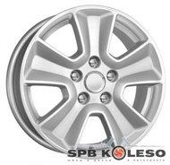 Колесный диск КиК КС672 (16_Duster FL) 6,5 \R16 5x114,3 ET50.0 D66.1 Сильвер - фото 1