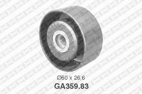 Ролик обводной ремня генератора citroen berlingo, peugeot 206/306/partner 1.9d 98 Snr GA35983
