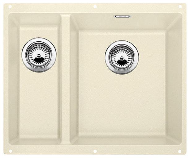 Кухонная мойка BLANCO SUBLINE 340/160-U SILGRANIT жасмин