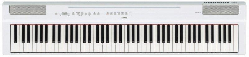 YAMAHA P-125 WH Портативное цифровое пианино