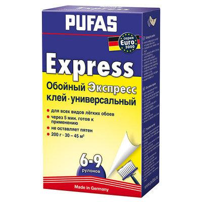 PUFAS Обойный клей EURO 3000 универсальный Экспресс