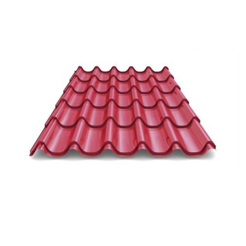 Металлочерепица 2,60*1,18 Металл-Профиль темно-вишневая
