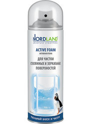 Пена NORDLAND для чистки зеркальных и стеклянных поверхностей 500 мл.