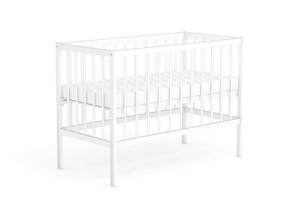 Кроватка детская Фея 101 белый