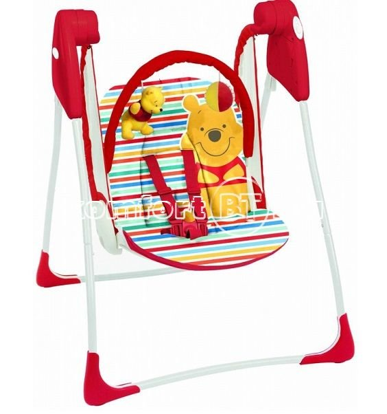 качели электронные Graco Baby Delight Disney Simply Pooh