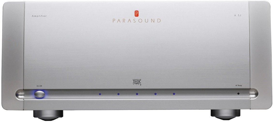 5-ти канальный усилитель мощности Parasound A51 silver