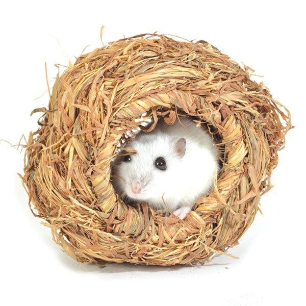 Дом-шар для грызунов плетеный, 10 см