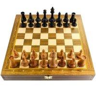 Шахматы Турнирные Бук нескладные (дерево, 37х37х5 см)