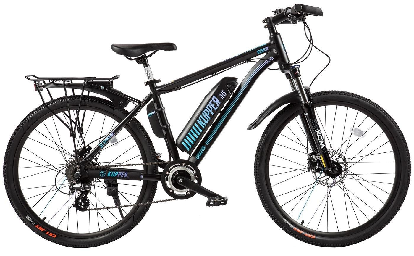 Электровелосипед Eltreco Kupper Unicorn 2018 Blue (One Size)
